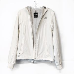 The North Face White Full Zip Up Jacket Size Small